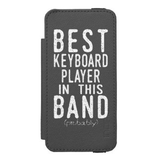 Best Keyboard Player (probably) (wht) Incipio Watson™ iPhone 5 Wallet Case