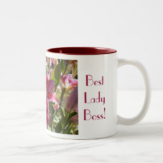 Best Lady Boss coffee mugs Lily Meery Cheery Joy