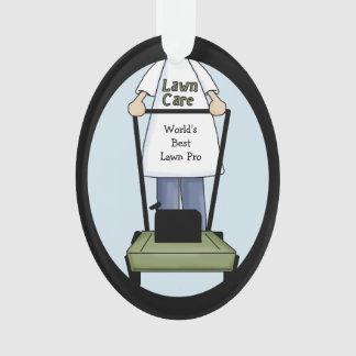 Best Lawn Care Pro Acrylic Ornament