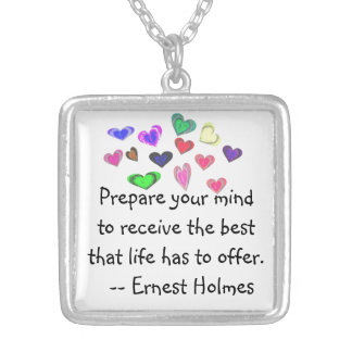 Best Life Has to Offer Silver Plated Necklace