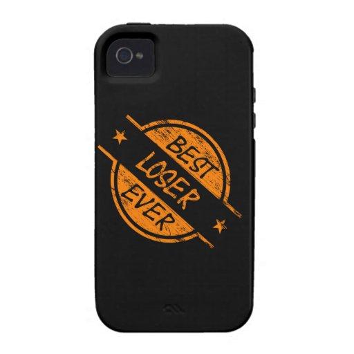 Best Loser Ever Orange iPhone 4/4S Case