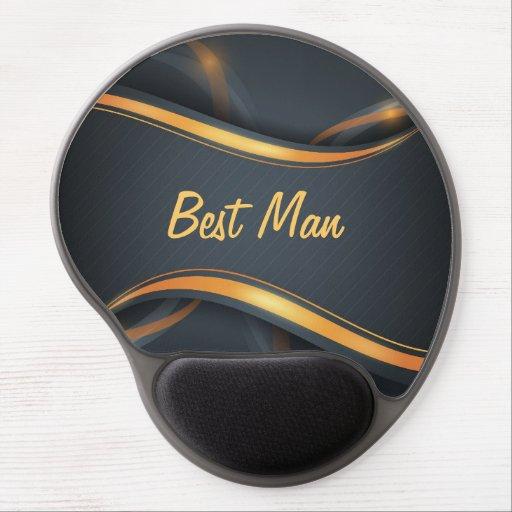 Best Man (b/g) Gel Mouse Mat