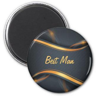 Best Man (b/g) Refrigerator Magnet