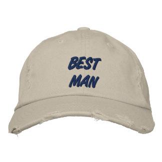 Best Man Baseball Cap