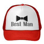Best Man (Bow Tie 2) Trucker Hat