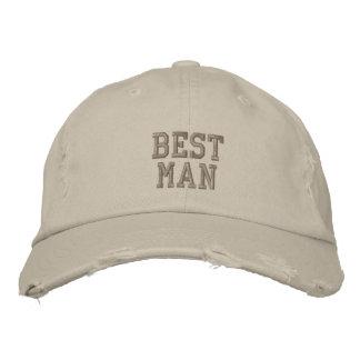 Best Man cap Embroidered Baseball Cap