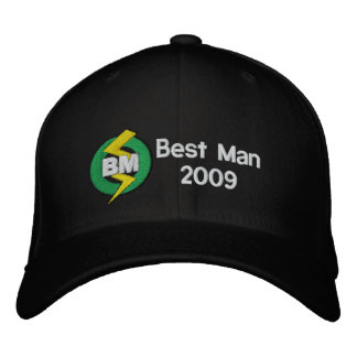 Best Man Embroidered Hat, Customizable Embroidered Hats