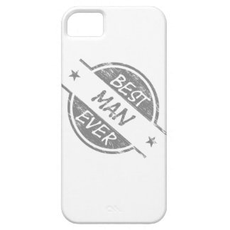 Best Man Ever Gray iPhone 5 Covers