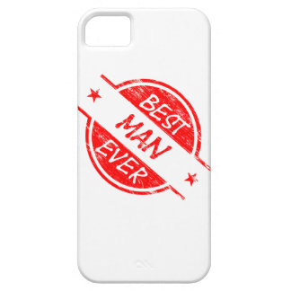 Best Man Ever Red iPhone 5 Case
