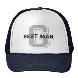 Best Man Groom Cheer Cap