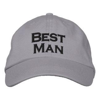 Best Man Hat Baseball Cap