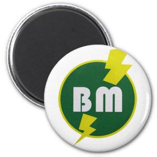 Best Man Mag 6 Cm Round Magnet