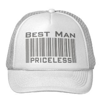 Best Man Priceless Cap