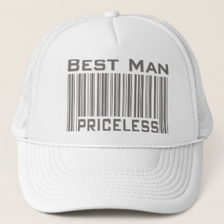 Best Man Priceless Trucker Hat