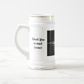 Best Man Thank You Gift - Tuxedo Template Beer Steins