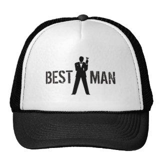 Best Man Toast Cap