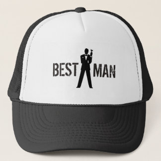 Best Man Toast Trucker Hat