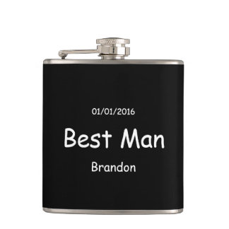 Best Man | Wedding Hip Flask