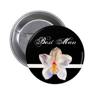 Best Man Wedding ID Badge