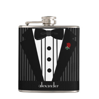 Best Man Wedding Personalized Hip Flask