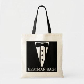 Best Man Wedding Tuxedo Tote Bag