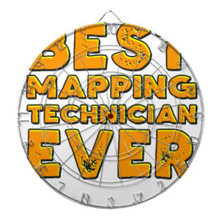 Best mapping technician ever dartboard