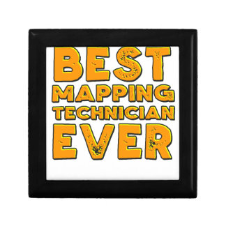 Best mapping technician ever gift box