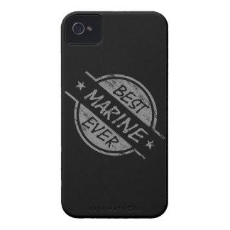 Best Marine Ever Gray Case-Mate iPhone 4 Case
