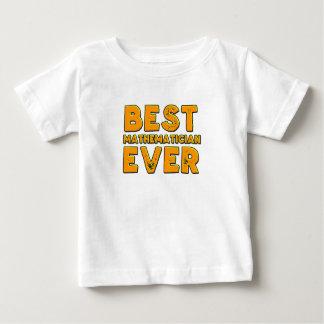 Best mathematician ever baby T-Shirt