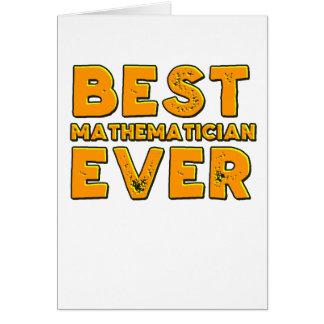 Best mathematician ever card