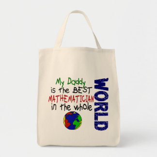 Best Mathematician In World 2 (Daddy) Bags