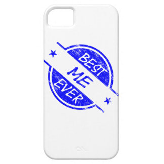 Best Me Ever Blue iPhone 5 Cover