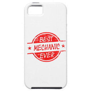 Best Mechanic Ever Red iPhone 5 Covers