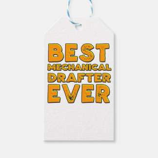 Best mechanical draftsman ever gift tags