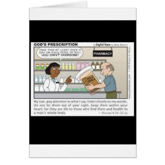 Best Medicine Greeting Cards