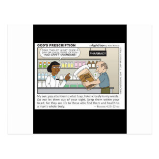 Best Medicine Post Card