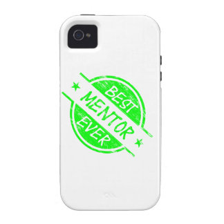 Best Mentor Ever Green iPhone 4 Cases