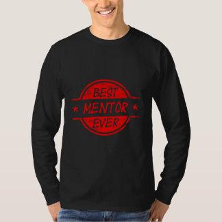 Best Mentor Ever Red T-Shirt