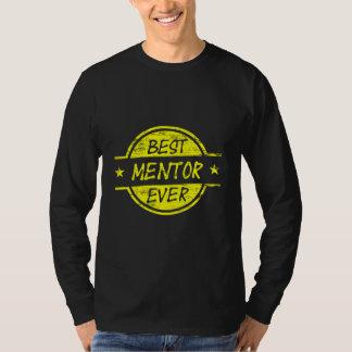 Best Mentor Ever Yellow T-Shirt