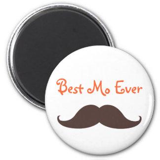 Best Mo Ever 6 Cm Round Magnet