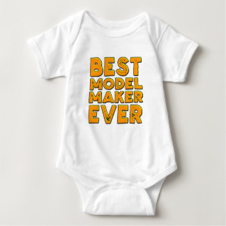 Best model maker ever baby bodysuit
