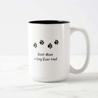 Best Mom a Dog Ever Had Travel Mug