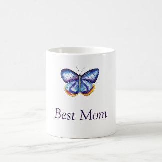 Best Mom Butterfly Drawing Mug
