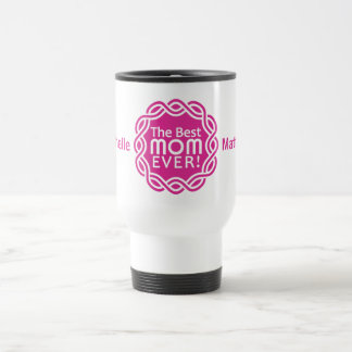 BEST MOM custom monogram mugs