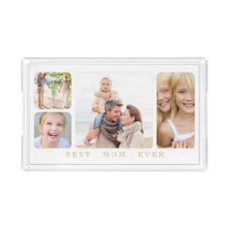 Best Mom Elegant Family Photo Collage
