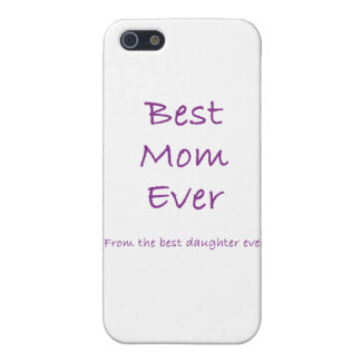 Best Mom Ever iPhone 5 Case