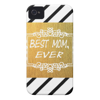 Best Mom Ever Mother's day Gold gift iPhone 4 Case-Mate Case