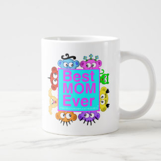 Best Mom Ever - Peek-A-Boo Crew Giant Coffee Mug