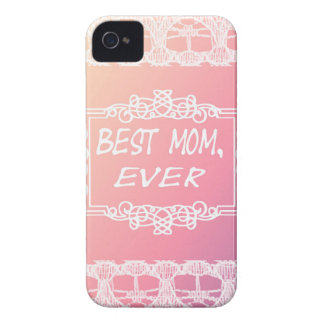 Best Mom Ever Pink Pastel mother's day gift iPhone 4 Case-Mate Case