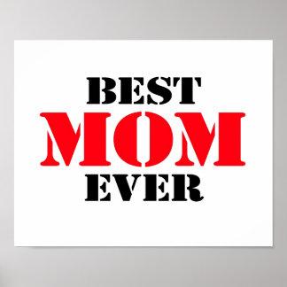 Best Mom Ever Print